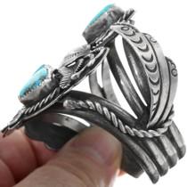 Sterling Silver Navajo Bracelet 34140