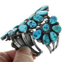 Sleeping Beauty Turquoise Cluster Bracelet 34142