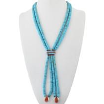 Old Pawn Turquoise Jacla Necklace 34147