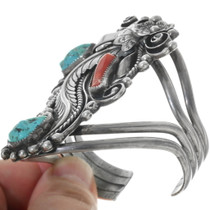 Vintage Navajo Sterling Silver Bracelet 34151