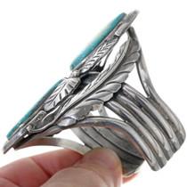 Navajo Sterling Silver Cuff Bracelet 34154