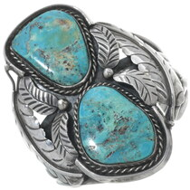 Old Pawn Morenci Turquoise Bracelet 34154