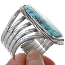Native American Sterling Silver Cuff Bracelet 34156