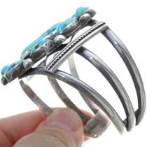Navajo Jimmie Long Turquoise Bracelet 34159