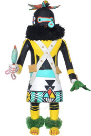 Vintage Zuni Warrior Kachina Doll 34163