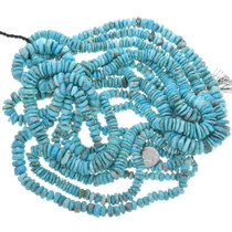 Natural Turquoise Disc Beads Heishi 33458
