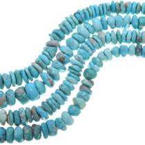 Large Turquoise Heishi Beads 33458
