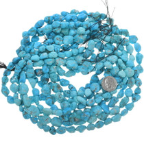 Natural Turquoise Beads Oval 33460