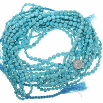 Top Quality Turquoise Disc Beads 33461