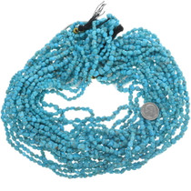 Untreated Turquoise Nugget Beads 33463