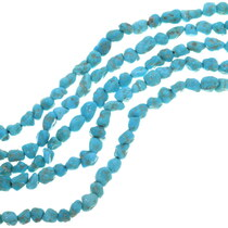 Natural Untreated Turquoise Beads 33463