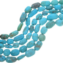 Chunky Natural Turquoise Beads 33466