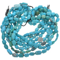 Turquoise Tumbled Nugget Beads 33466