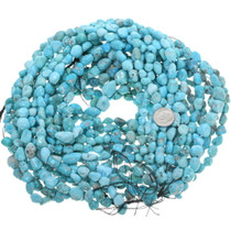 Turquoise Large Freeform Beads 33469