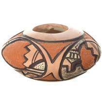 Vintage Hopi Etched Seed Pot 34199