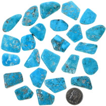 Natural Sleeping Beauty Blue Turquoise Cabochons 33471