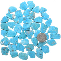 Natural Turquoise Cabs Backed 33472