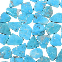 Blue Sonoran Turquoise Cabochons 33472