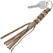 Native American Southwest Beaded Key Ring 34205