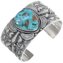 Vintage Turquoise Navajo Cuff Bracelet 34212