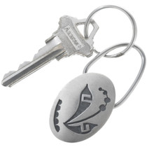 Native American Sterling Silver Key Chain 34216