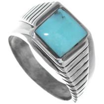 Navajo Turquoise Ring 34224