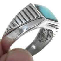 Sterling Silver Turquoise Ring 34224