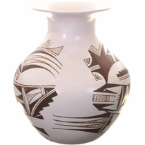 Marianne Navasie Whiteware Olla Pottery 34229