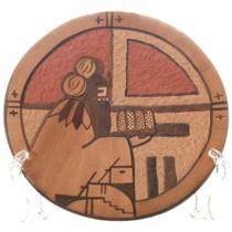 Vintage Hopi Etched Pottery Plate 34230
