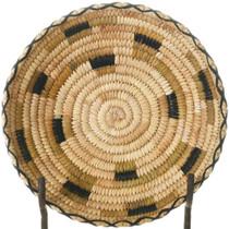 Vintage Papago Polychrome Basket 34234
