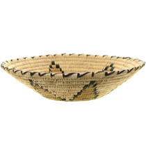 Native American Papago Basket Weaving 34235