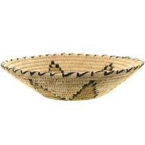 Native American Papago Basket Weaving 34235