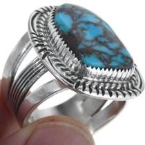 Bisbee Turquoise Navajo Ring 32480
