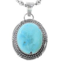 Sleeping Beauty Turquoise Pendant 34245