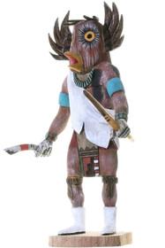 Vintage Hopi Great Horned Owl Kachina Doll 34249