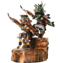 Hopi Eagle Red Tail Hawk Kachina Doll 34267