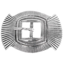 Old Pawn Style Navajo Belt Buckle 34271