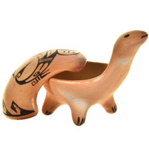 Two Piece Turtle Effigy Bowl 29331