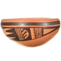 Pueblo Rain Feather Pattern Pottery 34285