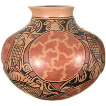 Hand Coiled Mata Ortiz Pottery 34304