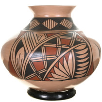 Hand Painted Small Mata Ortiz Olla Pottery 34287