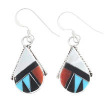 Zuni Necklace Earrings Set 34291