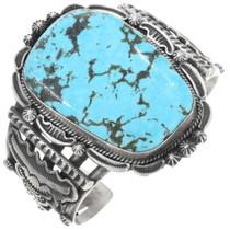 Kingman Turquoise Navajo Bracelet 34305