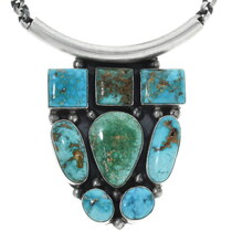 Royston Turquoise Pendant Necklace 34306