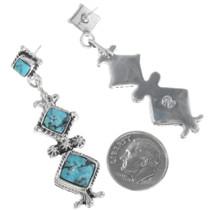Western Style Turquoise Earrings 34308