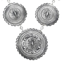 Navajo Sterling Silver Necklace 32189