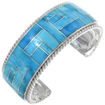 Turquoise Inlay Bracelet 34319