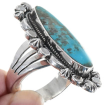 Turquoise Sterling Silver Pointer Ring 34330