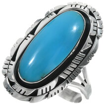 Navajo Turquoise Ring 34331
