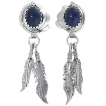 Lapis Lazuli Dangle Earrings 34339